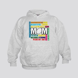 What is a Rugby Mom copy Kids Hoodie