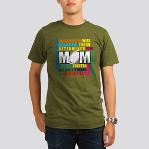 What is a Rugby Mom copy Organic Men's T-Shirt