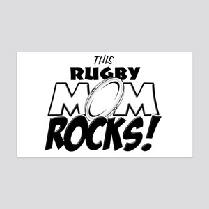 This Rugby Mom Rocks copy 35x21 Wall Decal