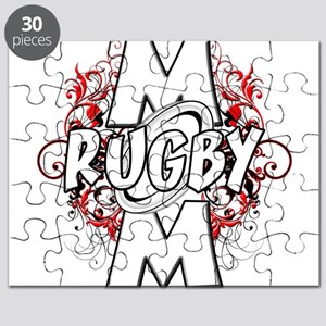 Rugby Mom (cross) Puzzle