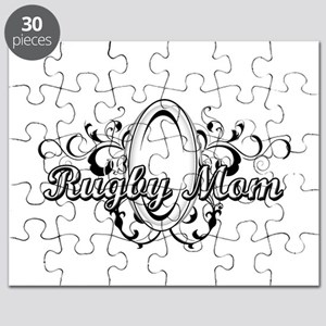 Rugby Mom (ball) copy Puzzle