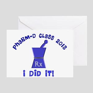 pharmD class of 2013 I did it Greeting Card