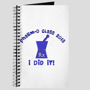 pharmD class of 2013 I did it Journal