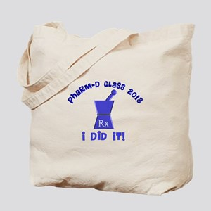 pharmD class of 2013 I did it Tote Bag