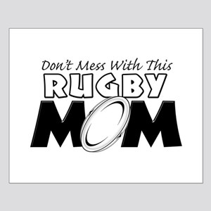 Dont Mess With This Rugby Mom copy Small Poste