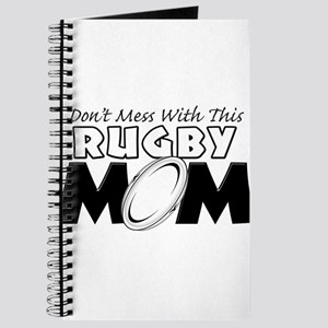 Dont Mess With This Rugby Mom copy Journal