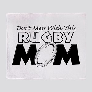 Dont Mess With This Rugby Mom copy Stadium Bl