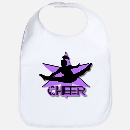 Cheerleader in purple Bib