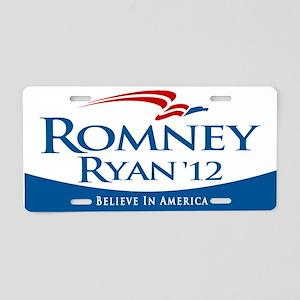 Romney/Ryan 2012 Aluminum License Plate