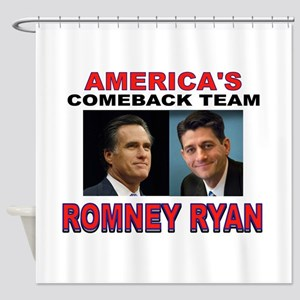 AMERICA'S COMEBACK TEAM Shower Curtain