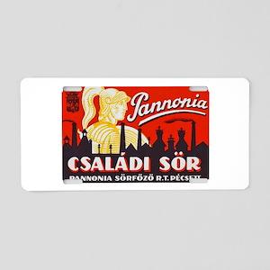 Hungary Beer Label 1 Aluminum License Plate