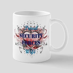 Security Forces Wife Mug