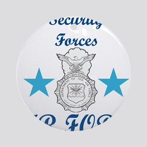 Sec. For. Air Force Ornament (Round)