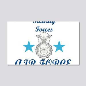 Sec. For. Air Force 20x12 Wall Decal