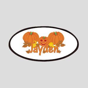 Halloween Pumpkin Jayden Patches