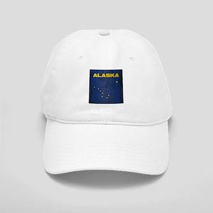 Grunge Alaska Flag Cap