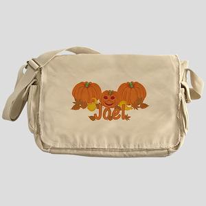 Halloween Pumpkin Joel Messenger Bag