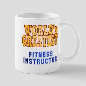 World's Greatest Fitness Instructor Mug