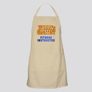 World's Greatest Fitness Instructor Apron