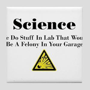Science Tile Coaster