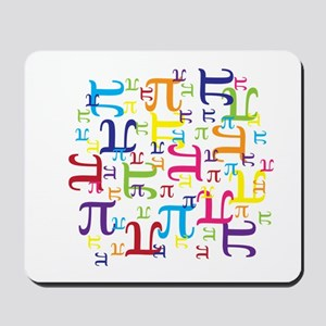 Pieces of Pi Mousepad
