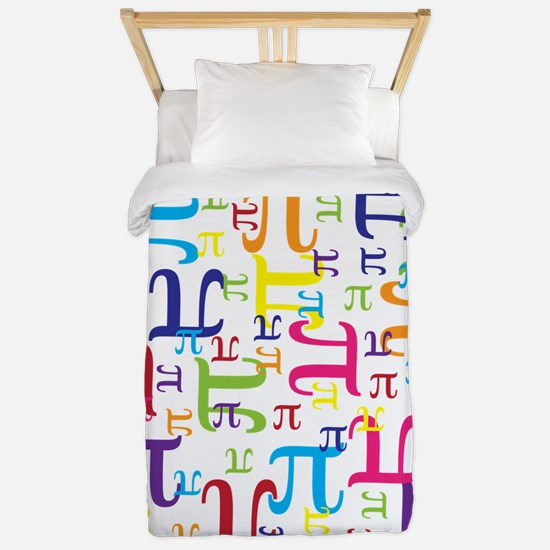 Pieces of Pi Twin Duvet