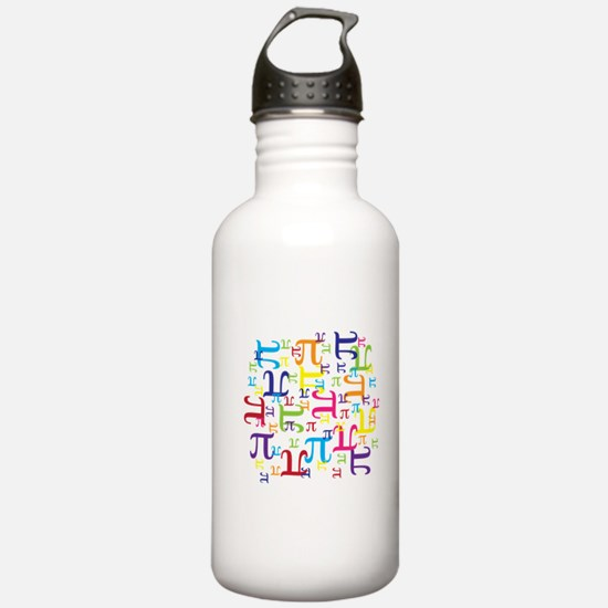 Pieces of Pi Water Bottle