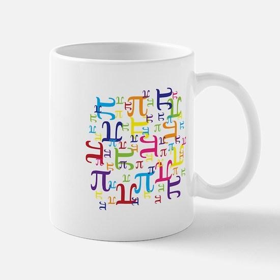 Pieces of Pi Mug