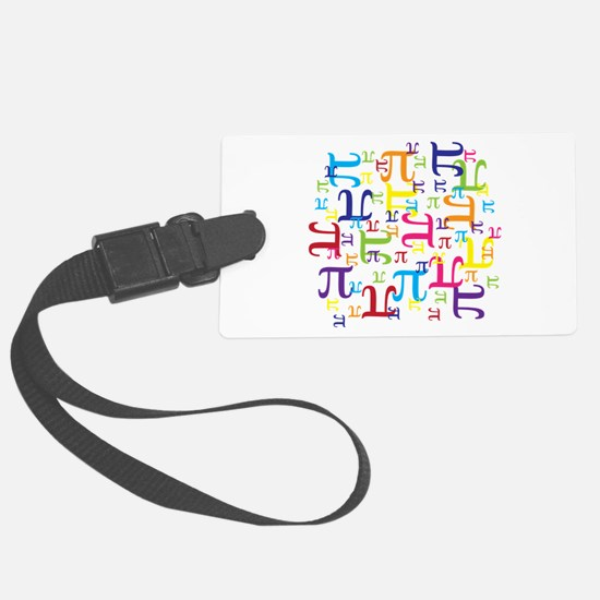 Pieces of Pi Luggage Tag