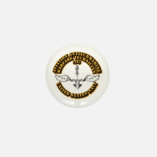 Navy - Rate - AX Mini Button