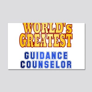 World's Greatest Guidance Counselor 20x12 Wall Dec
