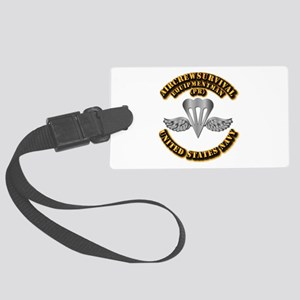 Navy - Rate - PR Large Luggage Tag