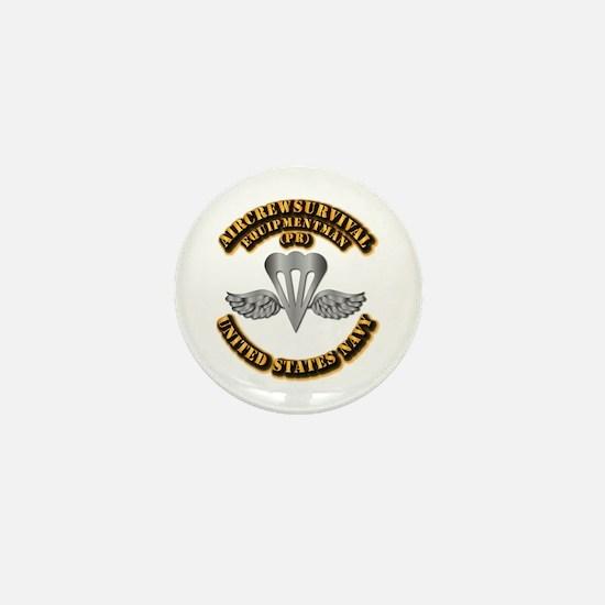 Navy - Rate - PR Mini Button