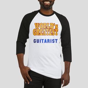 World's Greatest Guitarist Baseball Jersey