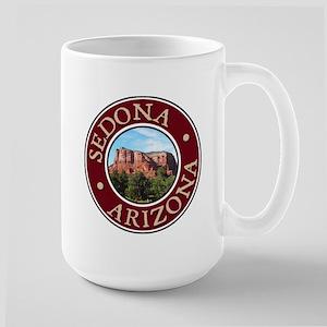 Sedona - Castle Rock Large Mug