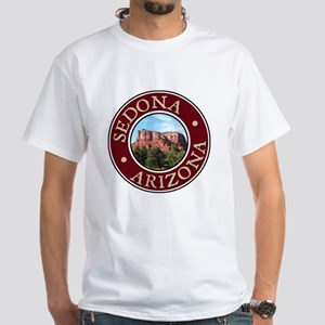 Sedona - Castle Rock White T-Shirt