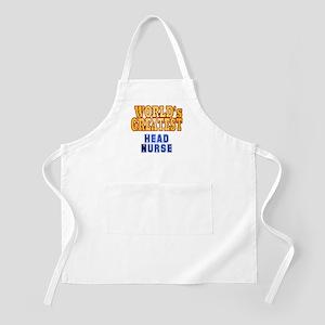 World's Greatest Head Nurse Apron
