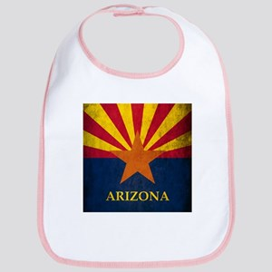 Grunge Arizona Flag Bib