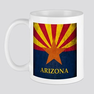 Grunge Arizona Flag Mug