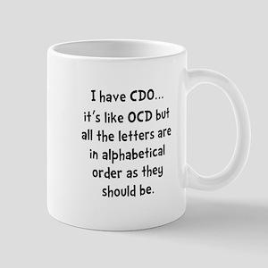 CDO Like OCD Mug