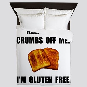 Crumbs Off Me Gluten Free Queen Duvet