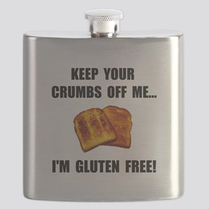 Crumbs Off Me Gluten Free Flask