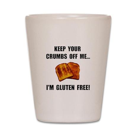 Crumbs Off Me Gluten Free Shot Glass