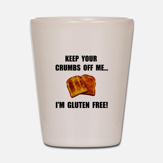 Crumbs Off Me Gluten Free Shot Glass