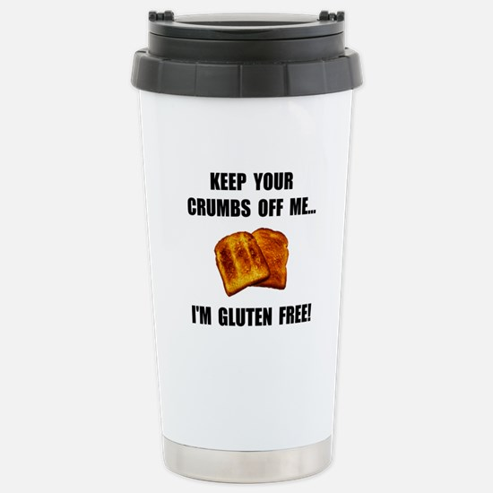 Crumbs Off Me Gluten Free Stainless Steel Travel M