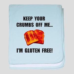 Crumbs Off Me Gluten Free baby blanket