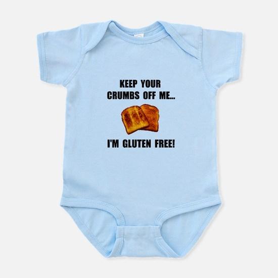Crumbs Off Me Gluten Free Infant Bodysuit