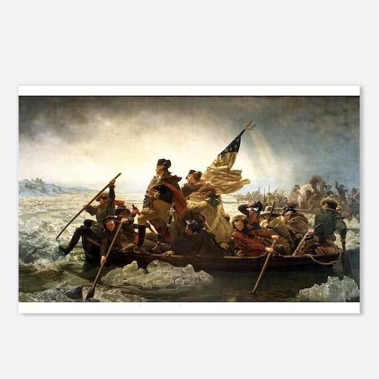 Emanuel Leutze Washington Crossing the Delaware Po