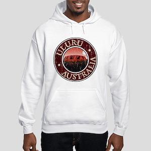 Uluru - Distressed Hooded Sweatshirt