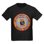 USS JAMES MONROE Kids Dark T-Shirt